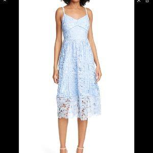Ted Baker London Valens Lace Midi Dress Size 4=12